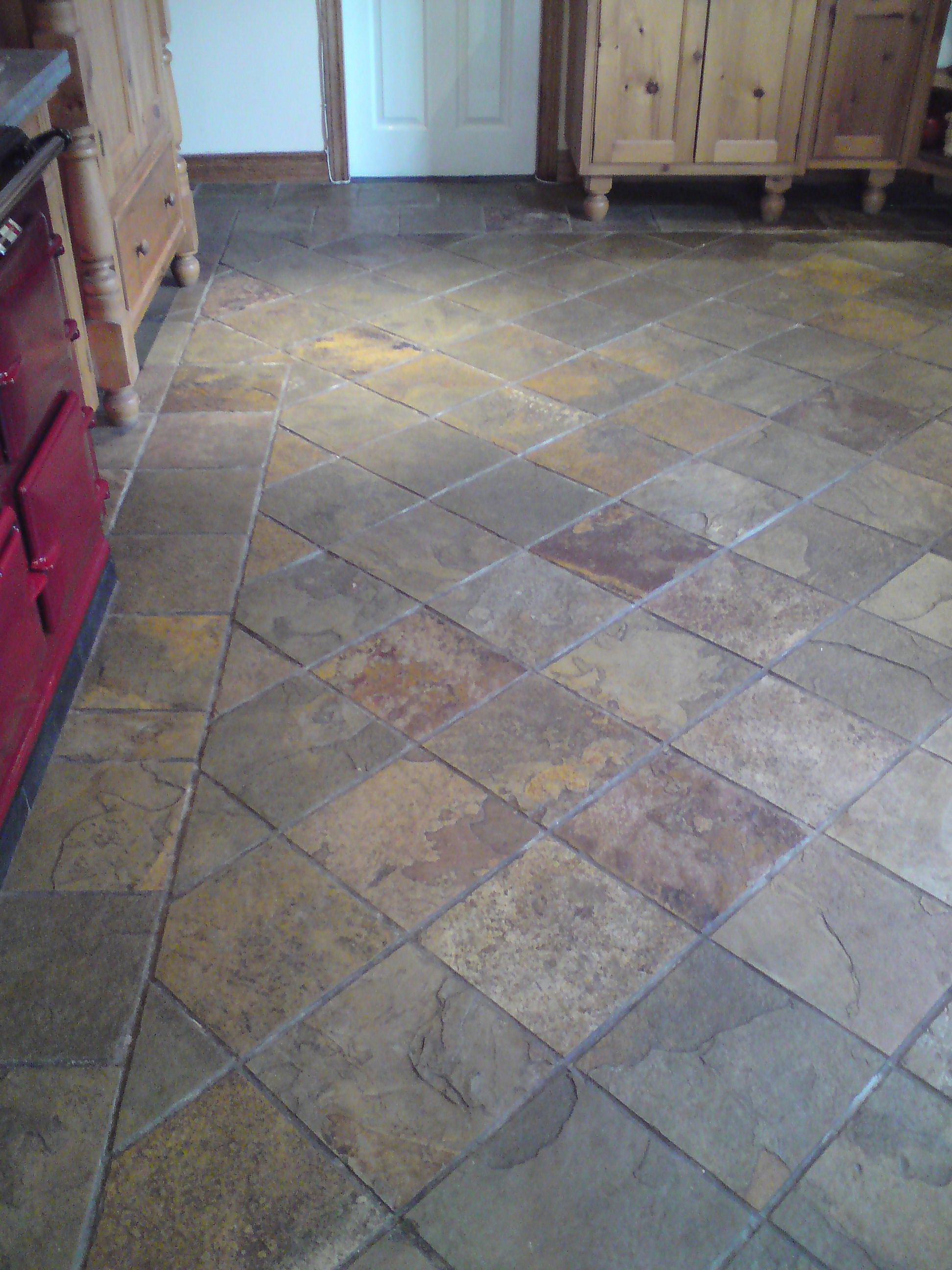 Stone tile grout cleaning in belfast holywood bangor from slate tile cleaning before dailygadgetfo Gallery